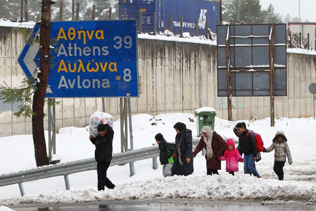 Άφησαν χωρίς θέρμανση τους πρόσφυγες στη Μαλακάσα εν μέσω πολικού ψύχους | Pagenews.gr