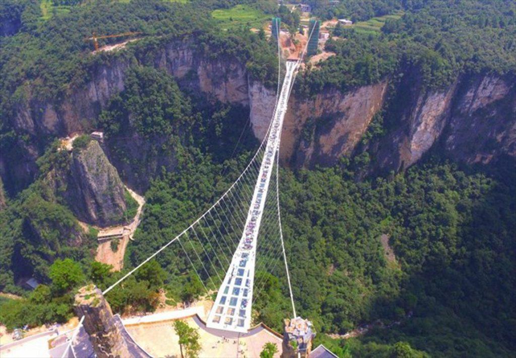 Στην Κίνα η μεγαλύτερη κρεμαστή γέφυρα του κόσμου | Pagenews.gr