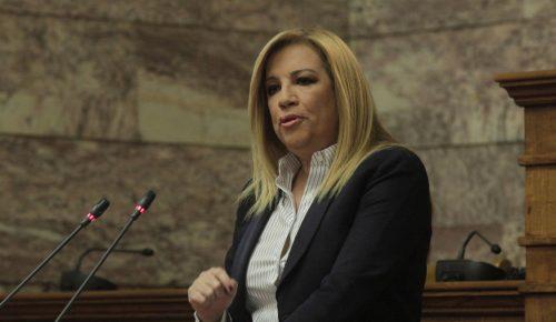 Γεννηματά: «Δεν αισθάνομαι ότι βρίσκομαι ανάμεσα σε μυλόπετρες Τσίπρα-Μητσοτάκη» | Pagenews.gr