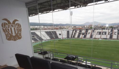 ΠΑΟΚ: Προστατευτικό δίχτυ πίσω από τον πάγκο της ΑΕΚ στην Τούμπα | Pagenews.gr