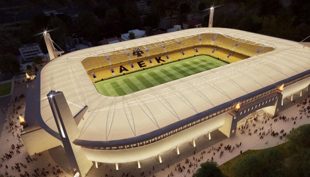 Νέα ερώτηση στη Βουλή για το γήπεδο της ΑΕΚ | Pagenews.gr