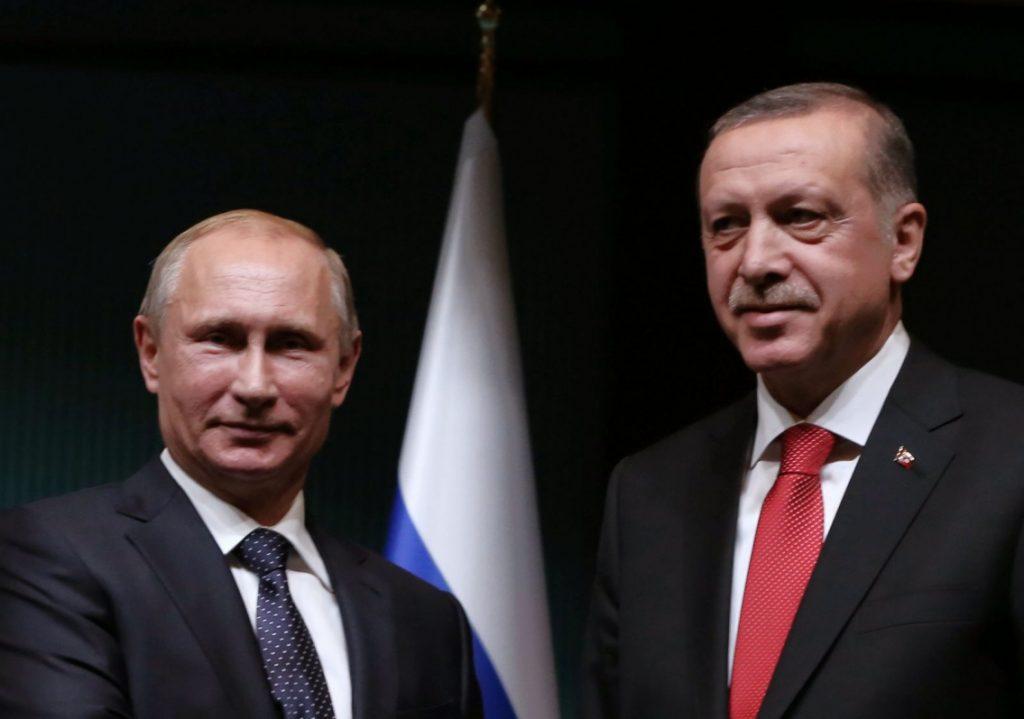 Τηλεφωνική επικοινωνία Πούτιν – Ερντογάν | Pagenews.gr