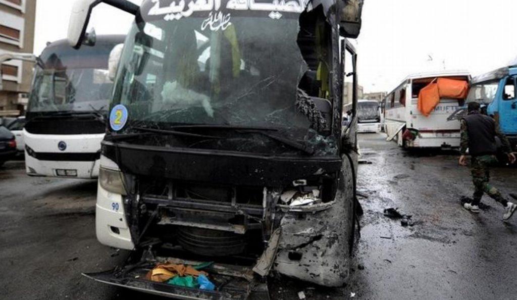 Συρία: Τουλάχιστον 44 νεκροί από την διπλή βομβιστική επίθεση στη Δαμασκό | Pagenews.gr