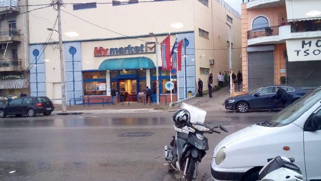 Βίντεο ντοκουμέντο: Οι πυροβολισμοί στη ληστεία του σούπερ μάρκετ | Pagenews.gr