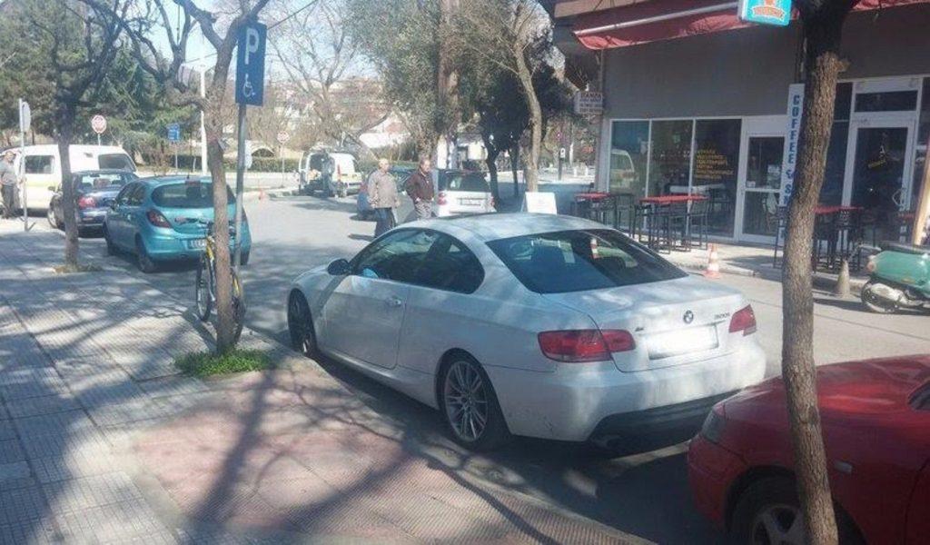 Σάλος με αντιδήμαρχο στην Έδεσσα που πάρκαρε σε χώρο στάθμευσης ΑμεΑ | Pagenews.gr