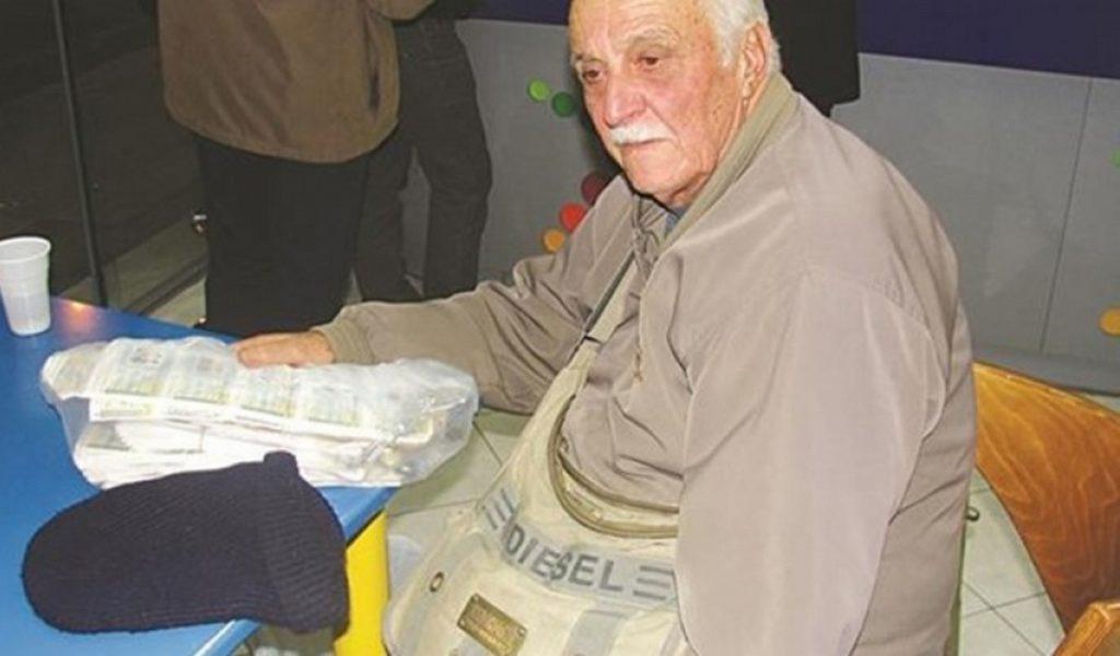 Χρεωμένος λαχειοπώλης βρήκε και παρέδωσε πορτοφόλι με 1.200 ευρώ | Pagenews.gr