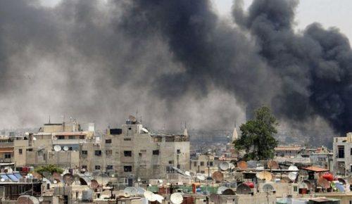 Μάχες μεταξύ Συριακού στρατού-ISIS νότια της Δαμασκού   Pagenews.gr