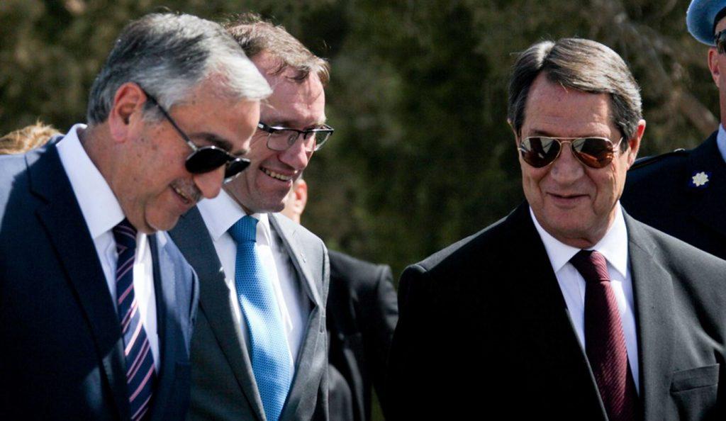 Κυπριακό: Συναντήσεις Έιντε με Αναστασιάδη και Ακιντζί   Pagenews.gr