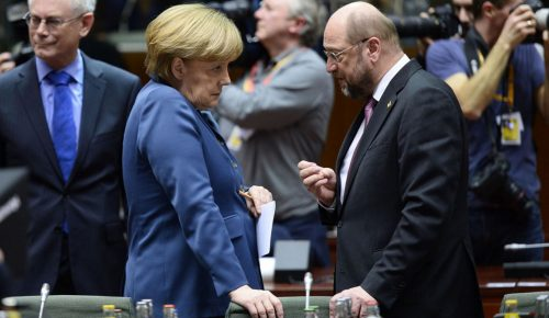 Bild: Ισοψηφούν Μέρκελ και Σουλτς | Pagenews.gr