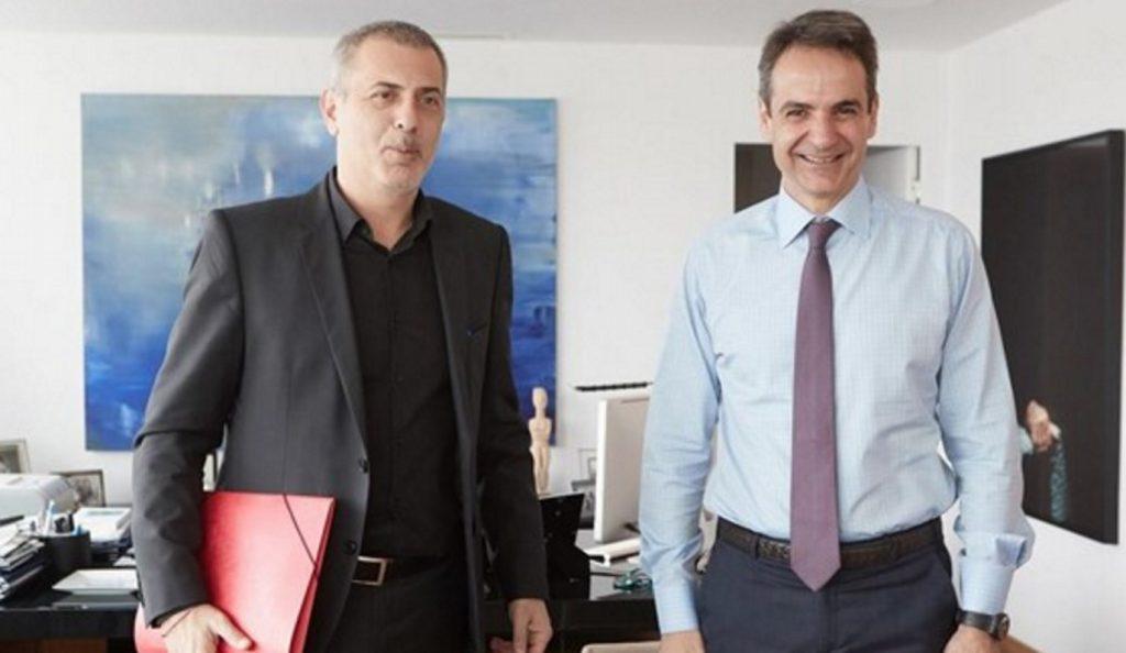 Συνάντηση Μητσοτάκη – Μώραλη | Pagenews.gr