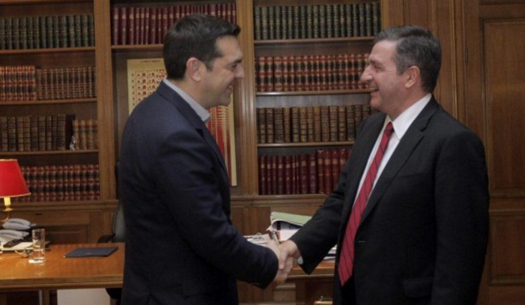 Συνάντηση Τσίπρα – Καμίνη | Pagenews.gr