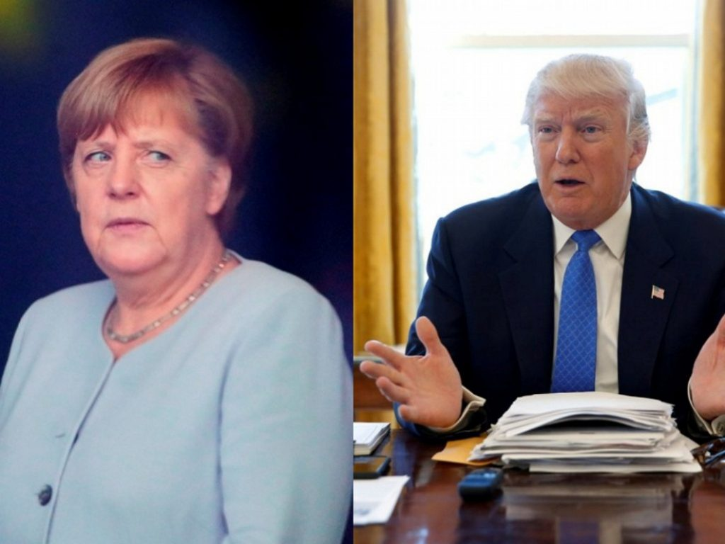 Τραμπ: Καλά πήγε η συνάντηση, αλλά η Γερμανία χρωστάει | Pagenews.gr