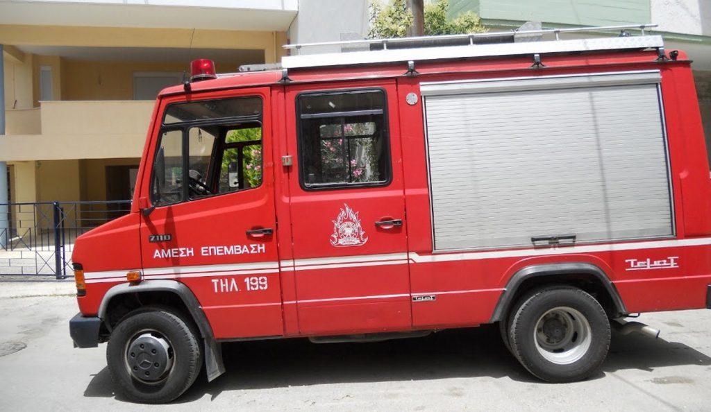 Ηράκλειο: Πυρκαγιά σε εργοστάσιο στρωμάτων | Pagenews.gr