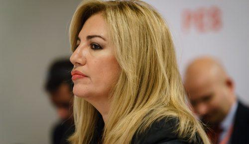 Φώφη Γεννηματά: Βασική προτεραιότητα η δημιουργία νέων θέσεων εργασίας | Pagenews.gr