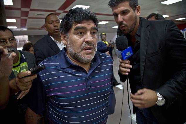 Μαραντόνα: Μαύρισε το πρόσωπο του πρώην γαμπρού του σε φωτογραφία (pic) | Pagenews.gr