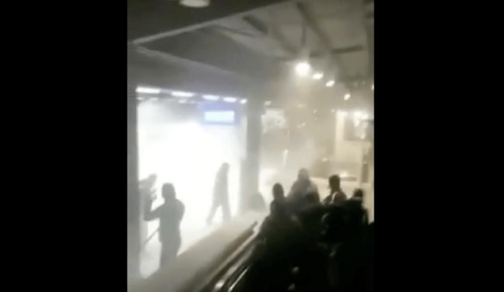 Νέο βίντεο από τα επεισόδια οπαδών της ΑΕΚ και του ΠΑΟΚ | Pagenews.gr