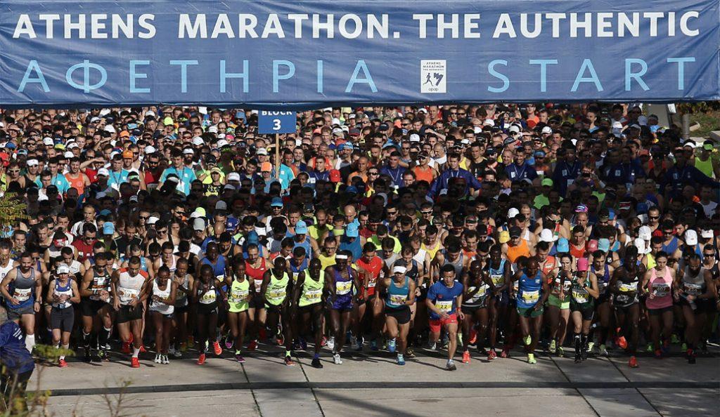 Αυθεντικός Μαραθώνιος της Αθήνας: Νικητές Καλαλέϊ και Μπουτάνε | Pagenews.gr