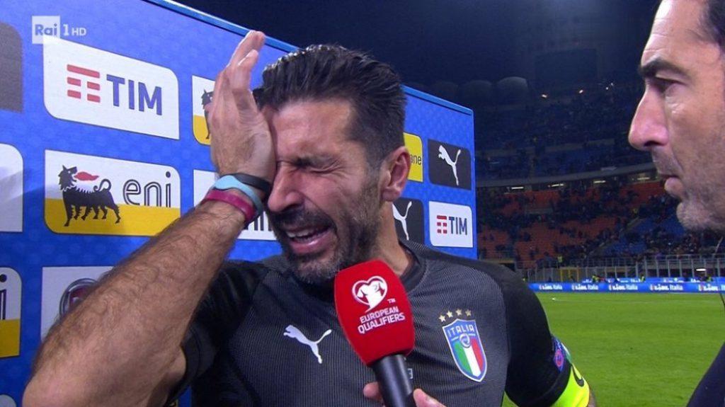 Ιταλία: Το κλάμα του Μπουφόν που συγκλόνισε όλο τον κόσμο (pics&vids)   Pagenews.gr