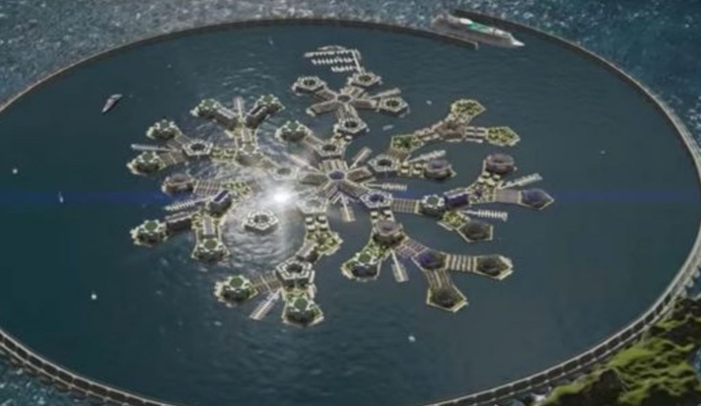 Γαλλική Πολυνησία: Φτιάχνουν πλωτή πόλη στον Ειρηνικό Ωκεανό (vid) | Pagenews.gr