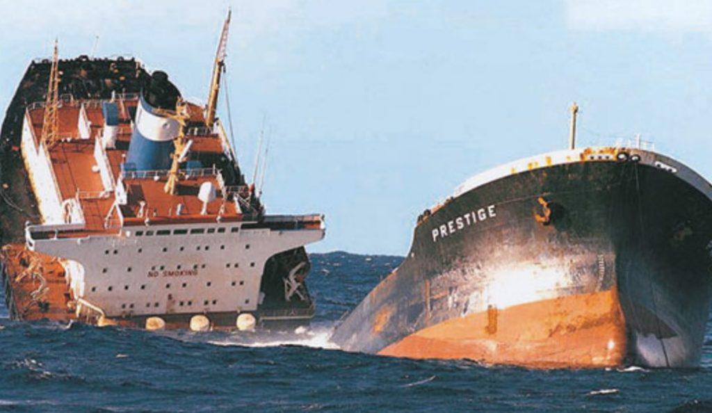 Ισπανία: 1,6 δισ. ευρώ η αποζημίωση για την πετρελαιοκηλίδα του Prestige | Pagenews.gr