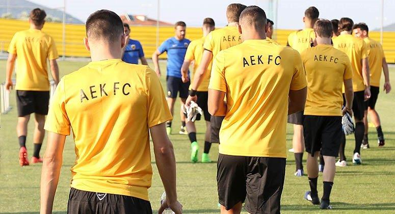 Προπόνηση χωρίς απρόοπτα για την ΑΕΚ | Pagenews.gr