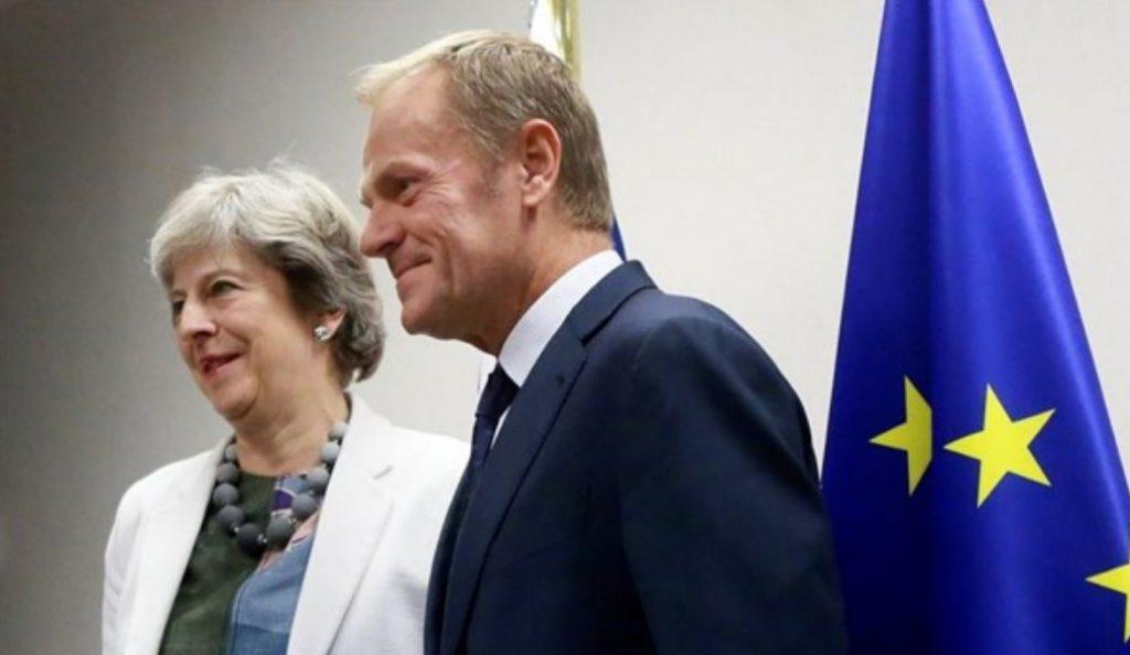 Σουηδία: Συνάντηση Τουσκ – Μέι για Brexit   Pagenews.gr