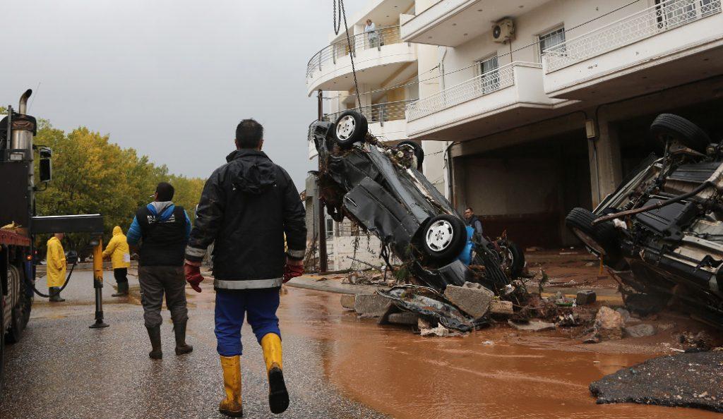 Μάνδρα – Νέα Πέραμος: Με εντατικούς ρυθμούς η πορεία αποκατάστασης των έργων | Pagenews.gr