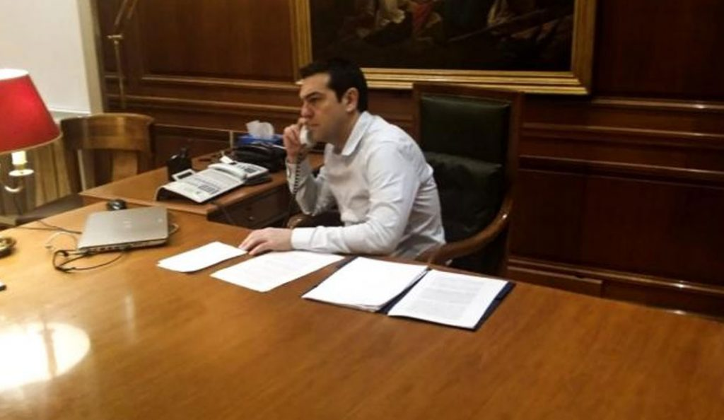Αλέξης Τσίπρας: Επικοινωνία με τον Όλαφ Σολτζ   Pagenews.gr
