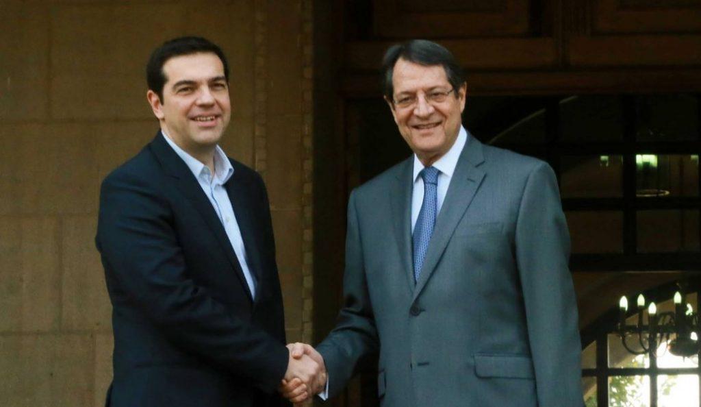 Αλέξης Τσίπρας: Συνεχάρη τον Νίκο Αναστασιάδη για την επανεκλογή του   Pagenews.gr