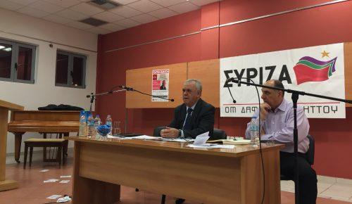 Γιάννης Δραγασάκης: Αντιεξουσιαστές διέκοψαν ομιλία του | Pagenews.gr