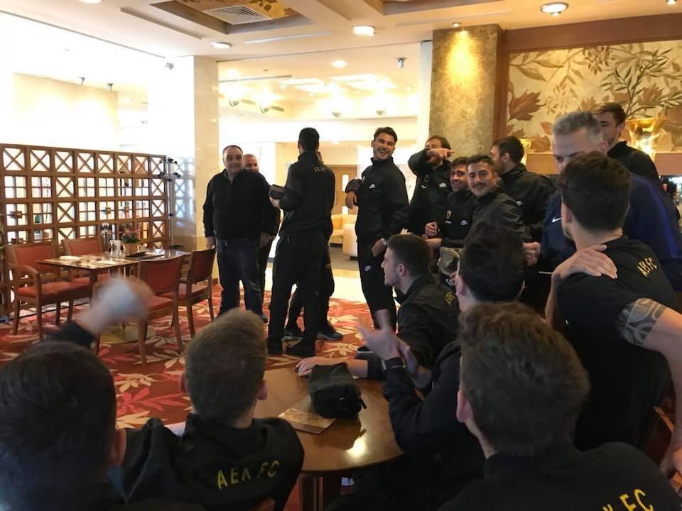 AEK: Η αντίδραση μετά την κλήρωση (pic)   Pagenews.gr