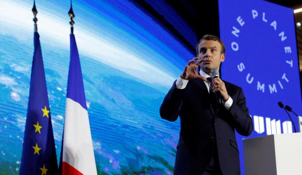 Μακρόν στο One Planet Summit: Χάνουμε τη μάχη με το κλίμα | Pagenews.gr