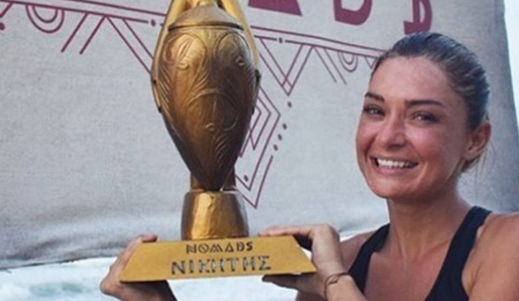 Nomads: Νικήτρια η Αποστολία Ζώη – Κέρδισε 100.000 ευρώ (vid) | Pagenews.gr