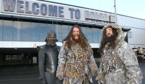 Φανατικοί με το «Game of Thrones» στο Μπέλφαστ: Το αεροδρόμιο μετονομάστηκε σε Γουέστερος   Pagenews.gr