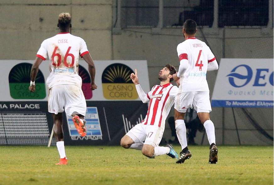 Λάρισα – Ολυμπιακός 0-3: Κορυφή, μόνο για… πάρτη του! | Pagenews.gr