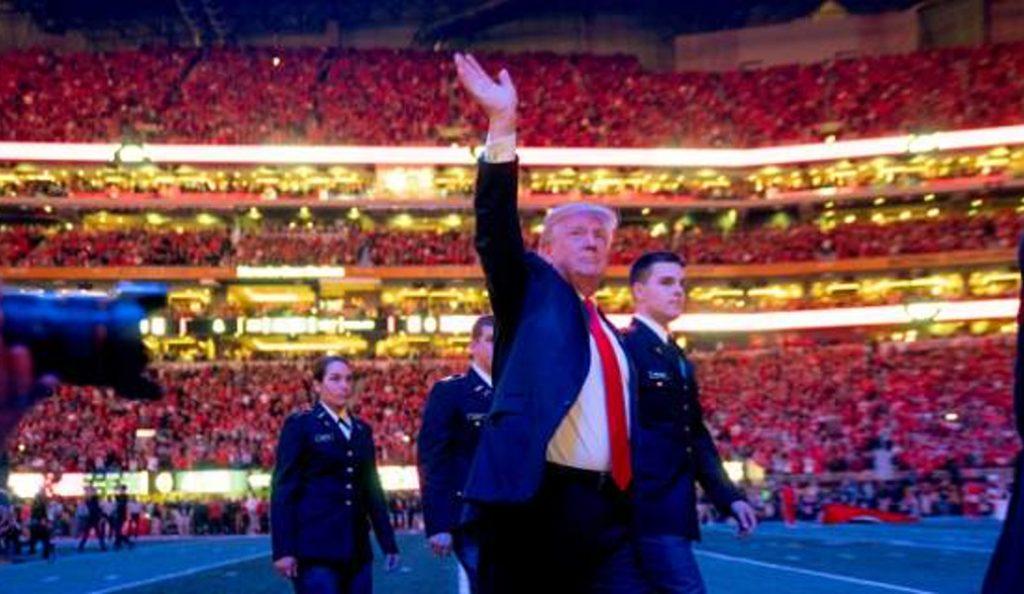 Ντόναλντ Τραμπ: Κι όμως ο Πρόεδρος ξέχασε τον εθνικό ύμνο (vids) | Pagenews.gr
