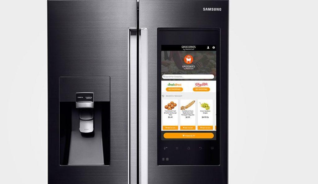 Samsung: Το νέο έξυπνο ψυγείο της θα δέχεται φωνητικές εντολές (pic)   Pagenews.gr