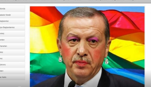 Anonymous Greece: Ο Ταγίπ Ερντογάν με τα χρώματα του Gay Pride (pics) | Pagenews.gr