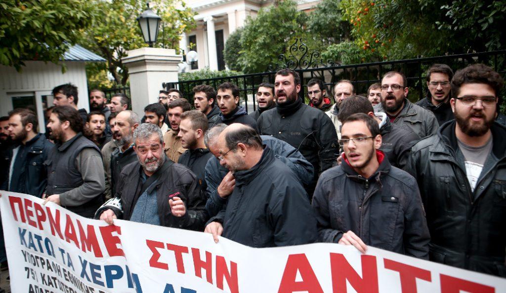 Τραυματίστηκε στο μάτι αρχιφύλακας της ΟΠΚΕ μετά από διαπληκτισμό με μέλη του ΠΑΜΕ   Pagenews.gr