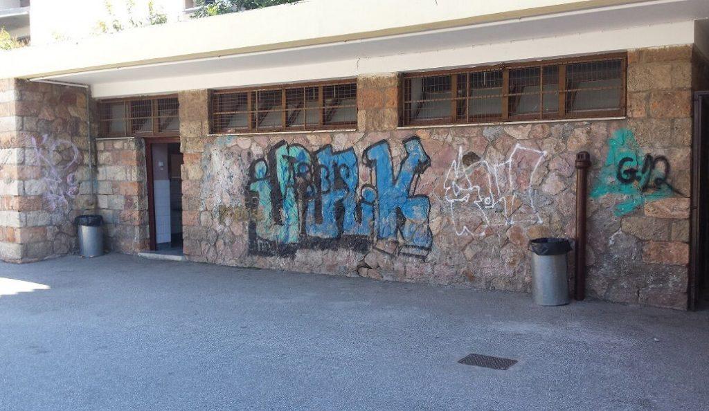Δήμος Αιγάλεω: Δράσεις καθαρισμού δημόσιων κτιρίων από γκράφιτι και συνθήματα | Pagenews.gr