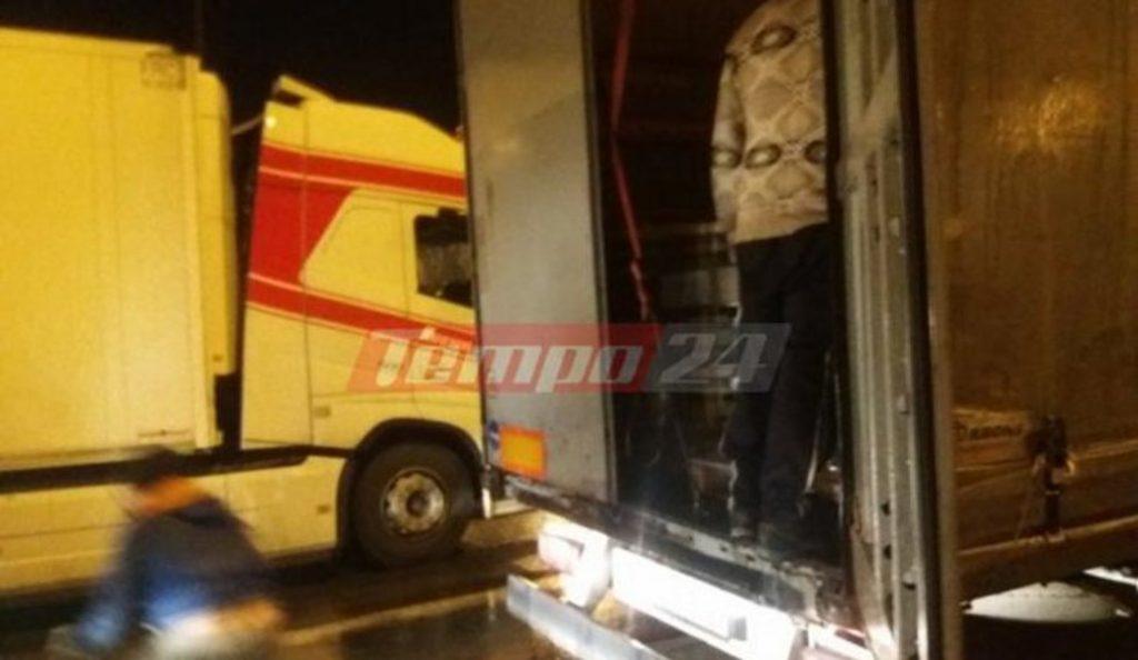 Ένταση στο λιμάνι της Πάτρας: Μετανάστες ορμούν σε νταλίκες (pics & vid) | Pagenews.gr