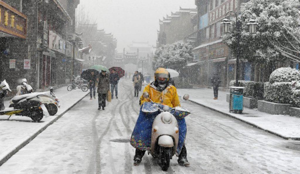 Κίνα: Σε «πορτοκαλί» συναγερμό λόγω κακοκαιρίας | Pagenews.gr