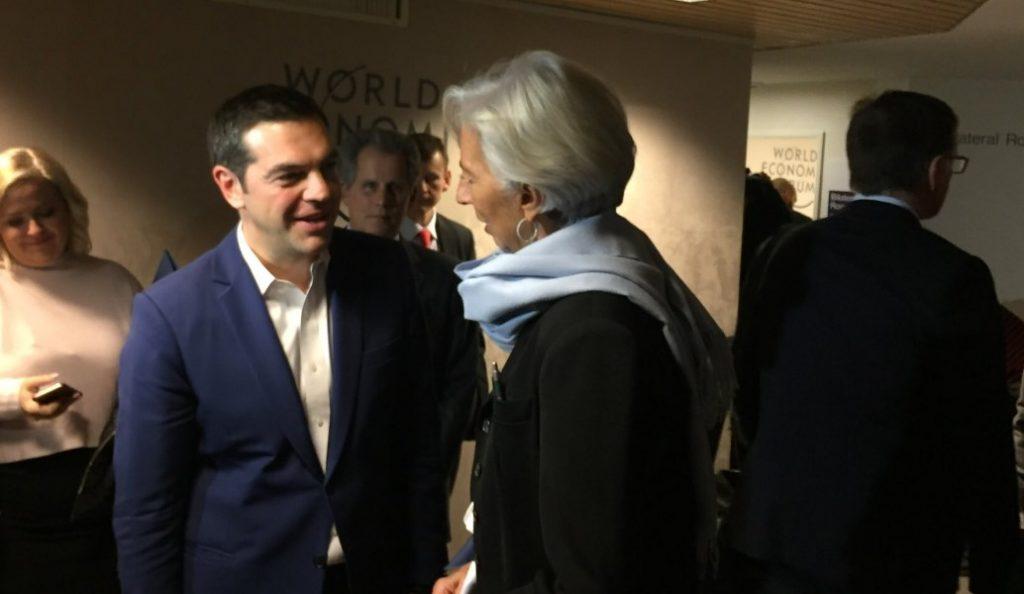 Αλέξης Τσίπρας – Κριστίν Λαγκάρντ: Συνάντηση για χρέος και μεταρρυθμίσεις στο Νταβός   Pagenews.gr