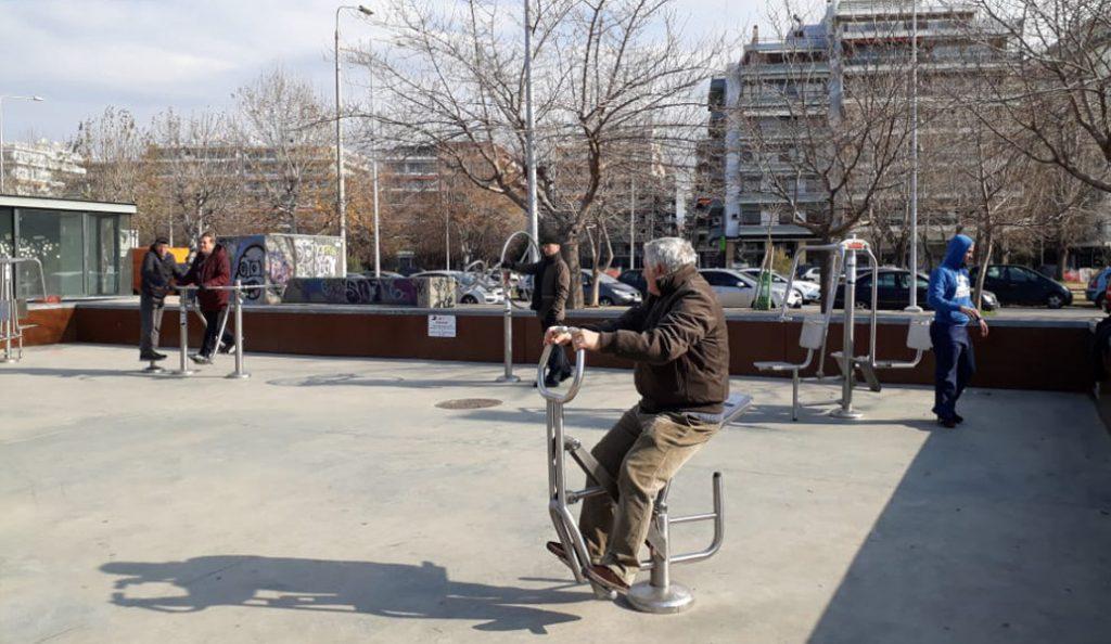 Θεσσαλονίκη: Νέο υπαίθριο γυμναστήριο στην παραλία   Pagenews.gr