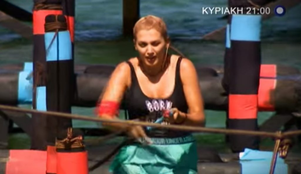 Survivor 2: Οι επιδόσεις της Σπυροπούλου στο αγώνισμα, τα νεύρα και ο τραυματισμός (vid) | Pagenews.gr