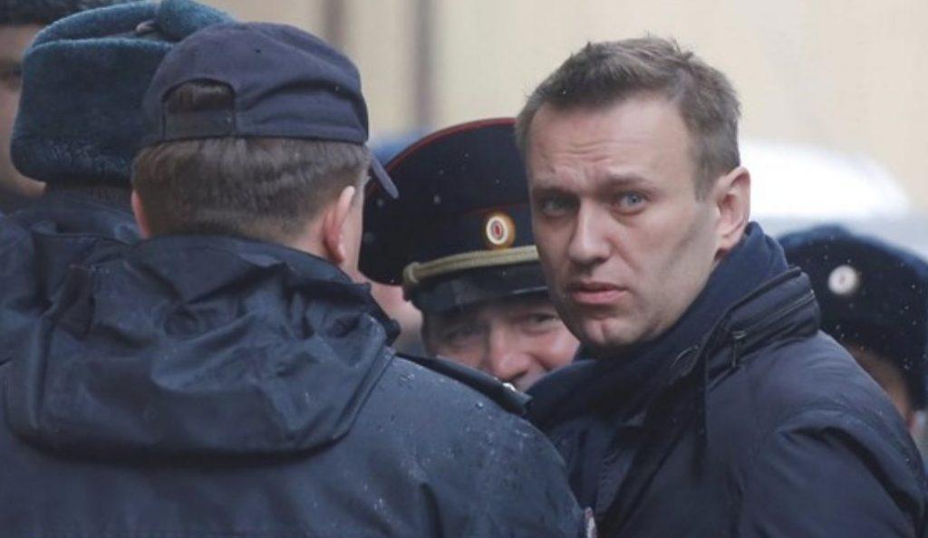 Ρωσία: Συνελήφθη ο Αλεξέι Ναβάλνι σε διαδήλωση κατά του Πούτιν (pics) | Pagenews.gr