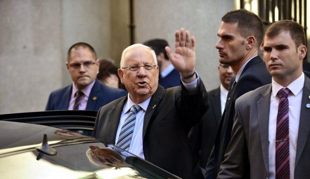 Φρούριο η Αθήνα για την επίσκεψη του Ισραηλινού Προέδρου, Ρεουβέν Ριβλίν | Pagenews.gr