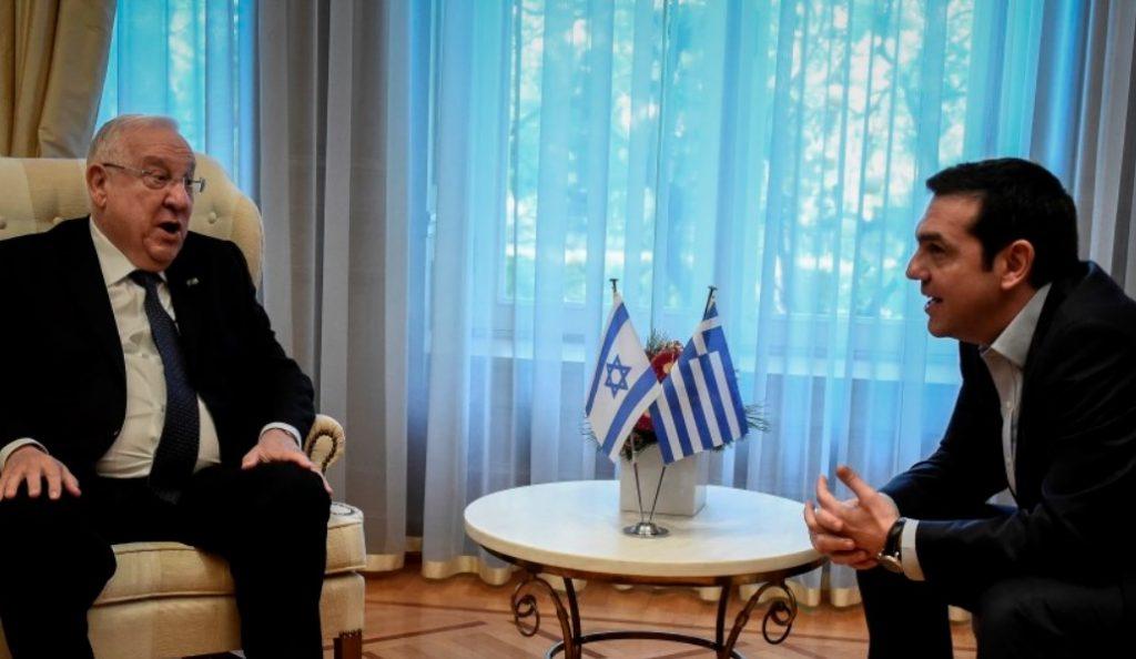 Αλέξης Τσίπρας σε Ρούβεν Ρίβλιν: Να κάνουμε γενναία βήματα για την ειρήνη   Pagenews.gr