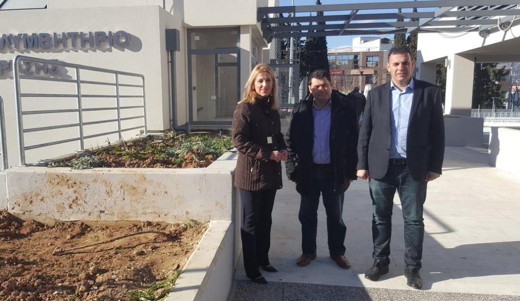 Δήμος Λυκόβρυσης-Πεύκης: Ρένα Δούρου και Γιώργος Καραμέρος ενημερώθηκαν για έργο της περιοχής | Pagenews.gr