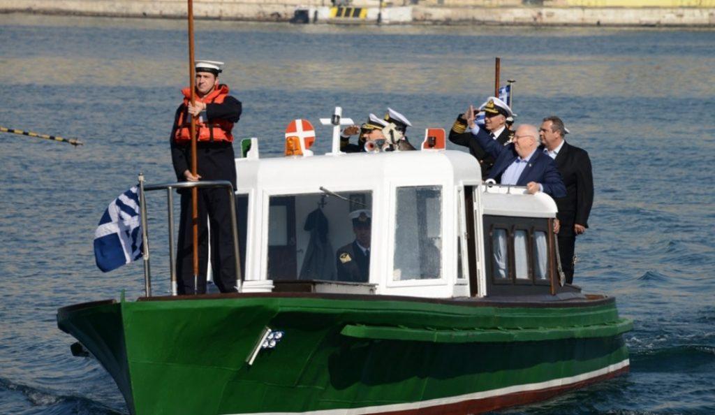 Στο Αρχηγείο Στόλου ο Ρούβεν Ρίβλιν | Pagenews.gr